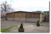 External View of Stables